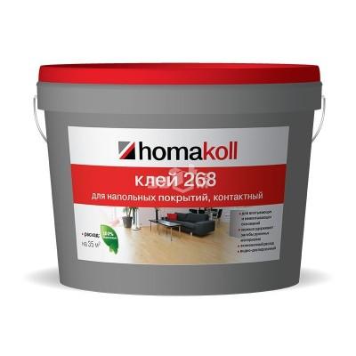 Клеи Homakoll 268* Водно-дисперсионный контактный. Неморозостойкий 3 кг