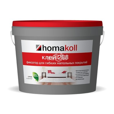 Клеи Homakoll 288 * Водно-дисперсионный. Неморозостойкий 10 кг