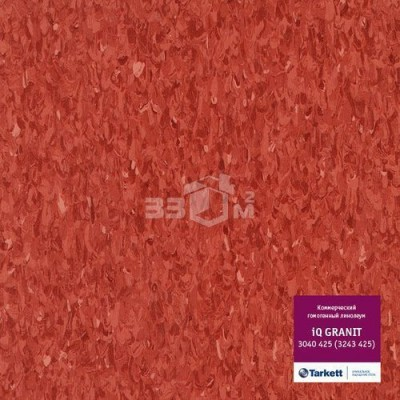 Коммерческий линолеум Tarkett IQ Granit 3040 425 (3243 425) (2 м)