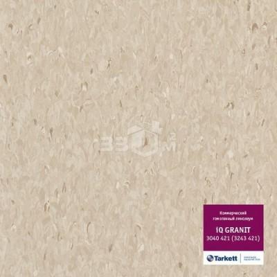 Коммерческий линолеум Tarkett IQ Granit 3040 421 (3243 421) (2 м)