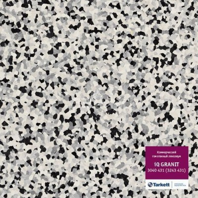Коммерческий линолеум Tarkett IQ Granit 3040 431 (3243 431) (2 м)