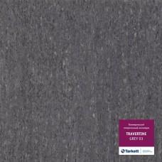 Коммерческий линолеум Tarkett TRAVERTINE GREY 03
