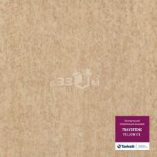 Коммерческий линолеум Tarkett TRAVERTINE YELLOW 01