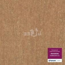 Коммерческий линолеум Tarkett TRAVERTINE TERRACOTTA 01