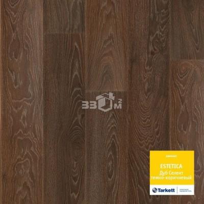 Ламинат Tarkett, Estetica 933 Oak Select dark brown