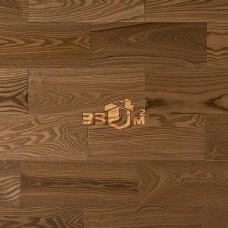 Массивная доска Amber Wood, Светлый орех ясень лак 150х18х300-1800