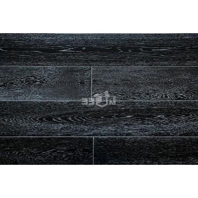 Массивная доска Amber Wood, Черно-белый дуб лак