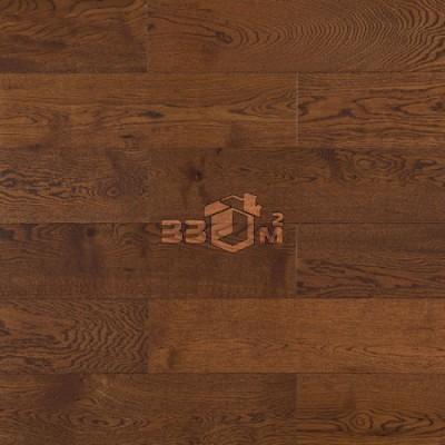 Массивная доска Amber Wood,Шоколад дуб лак 150х18х300-1800