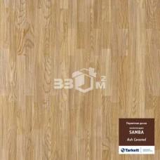 Паркет Tarkett Samba 3-х полосная ASH CARAMEL CL TL DG 1123