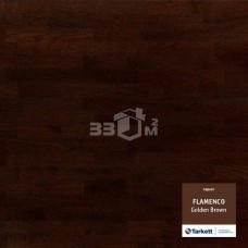Паркетная доска Tarkett FLAMENCO 3-х полосная Golden Brown (Т-коричневыйЗолотой), PL