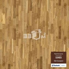 Паркетная доска Tarkett Samba 3-х полосная OAK EUROPEAN CL TL