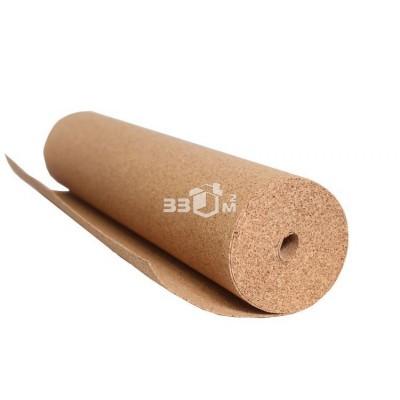 Пробковая подложка Granorte 1000*10мм/ рулонная 10 мм, 10 м2